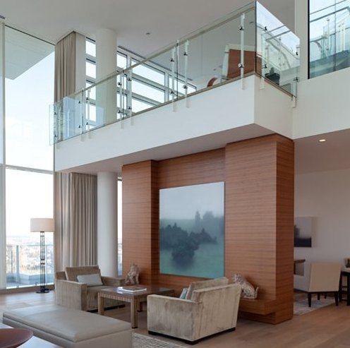 baranda de cristal balcon interior