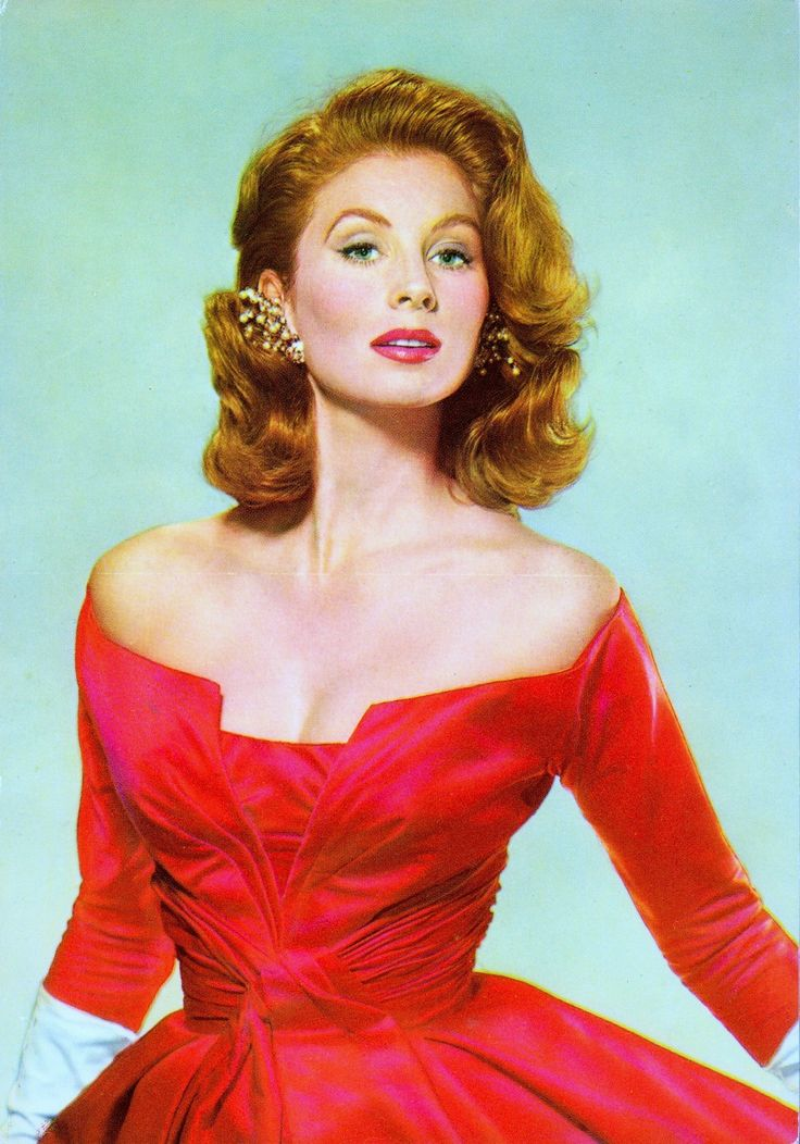 SUZY PARKER 1950's supermodel & actress, (vintage european postcard) was the first model to make more than $100 an hour and $100,000 a year. A cover-girl famous for her red hair, was a favorite of Coco Chanel and photographer Richard Avedon. Appeared in Funny Face in 1957, & The Best of Everything with Joan Crawford in 1959. At the height of her popularity, she was known as the most photographed woman in the world. (please follow minkshmink on pinterest) #supermodel #suzyparker #fashionmodel