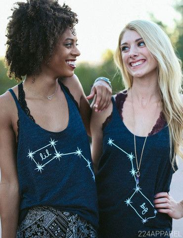 Big Little Dippers Constellation Tanks