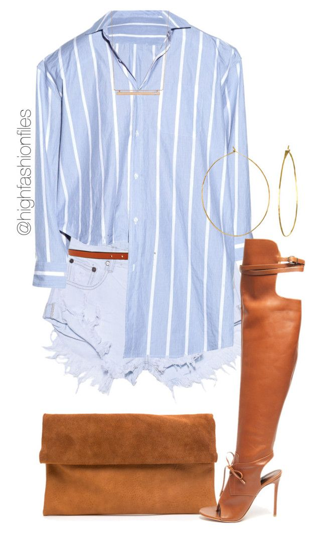 """""""Hamptons"""" by highfashionfiles ❤ liked on Polyvore featuring One Teaspoon, Meredith Wendell, Altuzarra, Phyllis + Rosie and Monique Péan"""