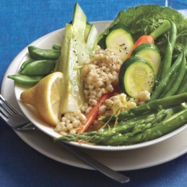 salad with lemon vinaigrette www vegetariantim more vegetables lemon ...