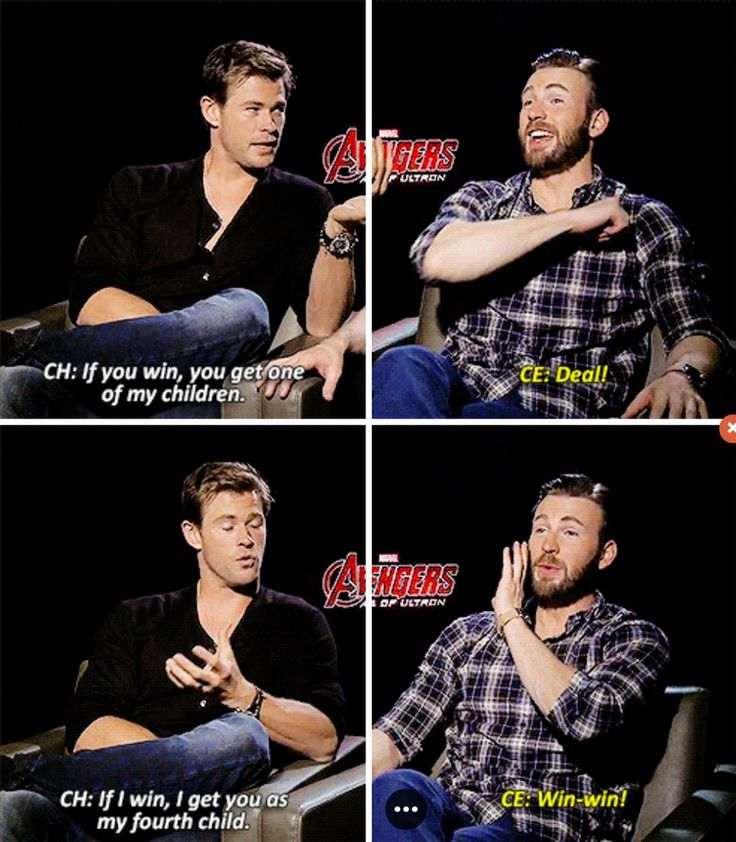 Chris Evans & Chris Hemsworth's 'Age of Ultron' Interviews Prove That They Have The Best Bromance