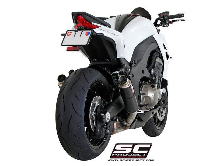 Kawasaki Ninja Z1000 Sound Exhaust