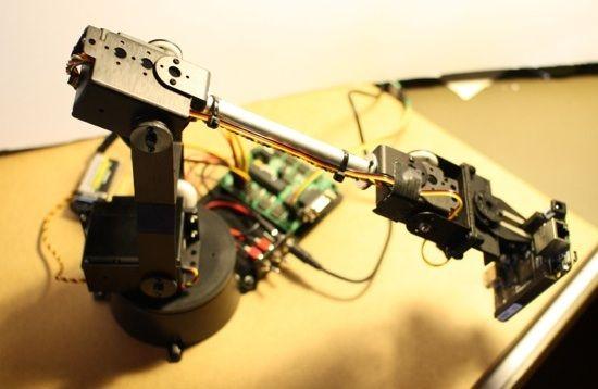 DIY Robotic Arm Control with Beaglebone Black