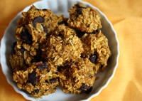 """Legal"" Pumpkin cookies, I added raisins instead of chocolate chips."