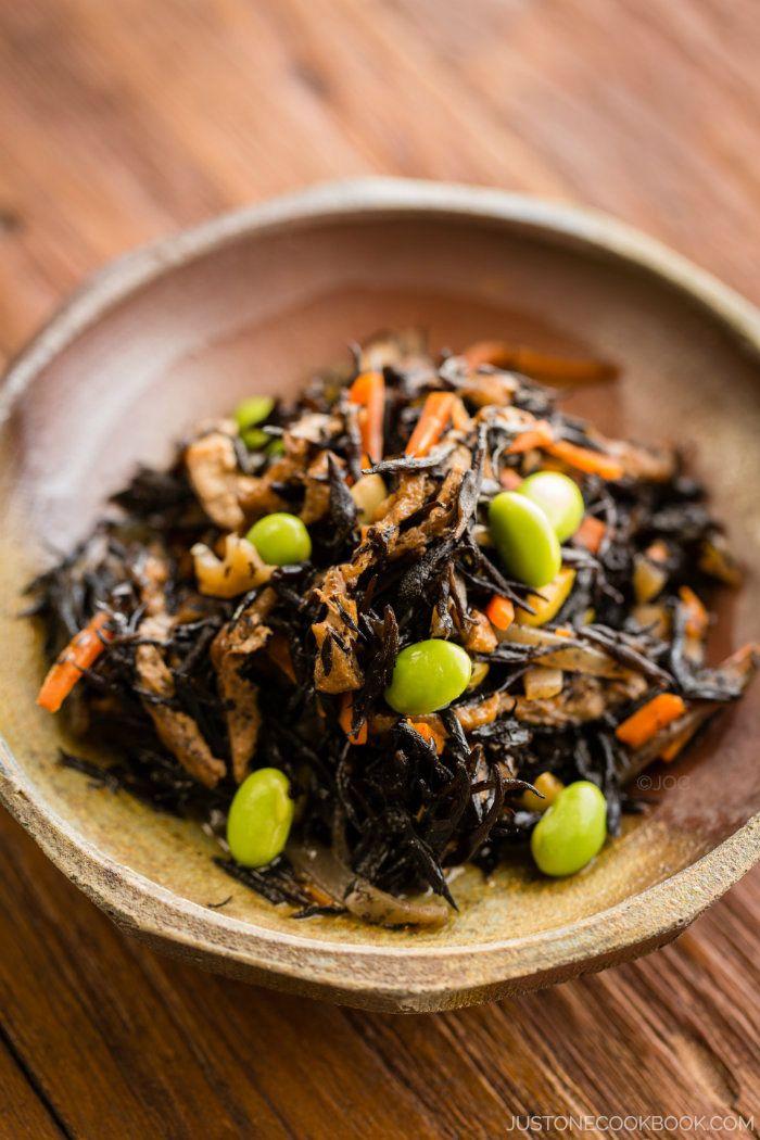 Hijiki Salad ひじきの煮物 | Easy Japanese Recipes at JustOneCookbook.com