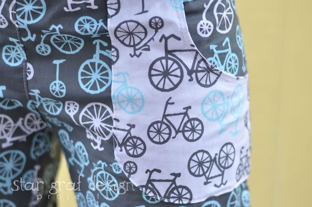 Relax in these sweet bicycle lounge pants