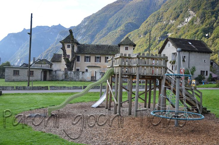 Brione: uno splendido parco giochi ai piedi della Valle Verzasca.