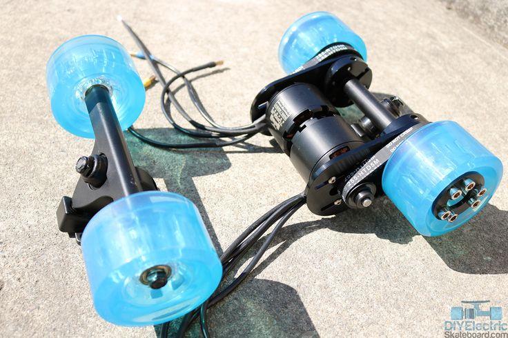 electric skateboard 2 wheels