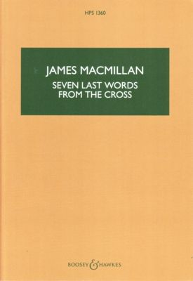 MacMillan: Seven Last Words From The Cross - Miniature Score. £18.99