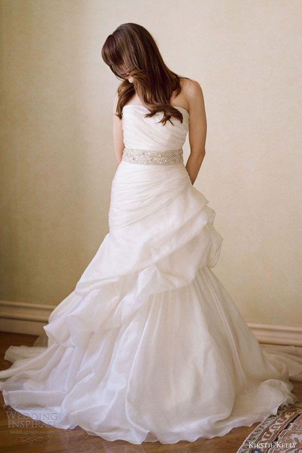 Perfect kirstie kelly wedding dresses casablanca strapless gown