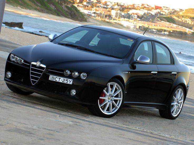 Alfa Romeo 159 Ti. (I have no idea what the 'Ti' means. Anyone?)