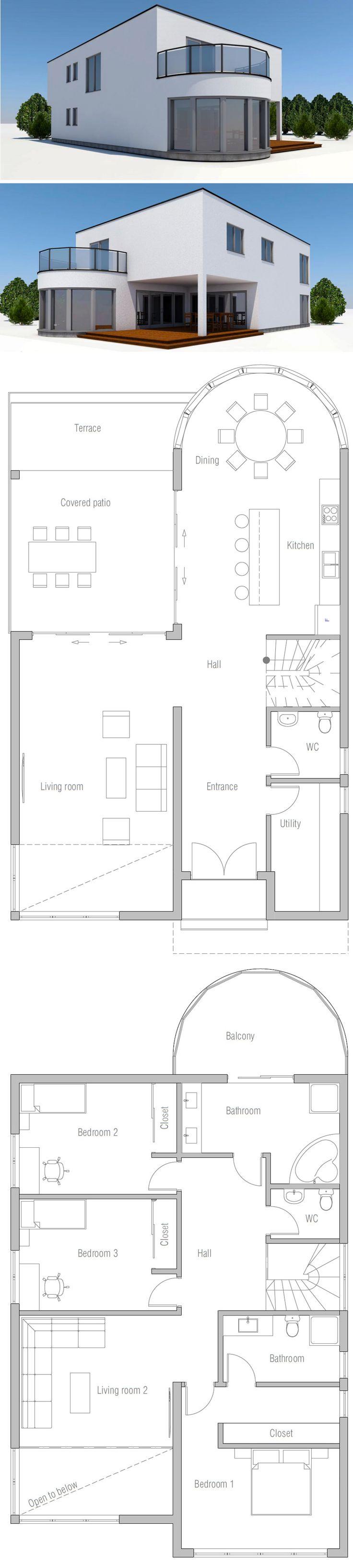 1000+ ideas about Villa Plan on Pinterest Blueprints of houses ... - ^