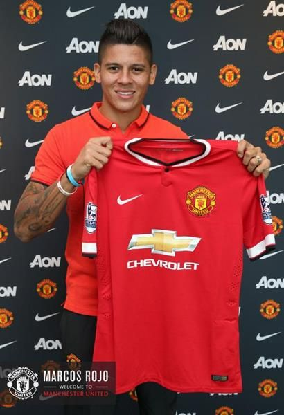Marcus Rojo signs for Manchester United from Sporting Lisbon.