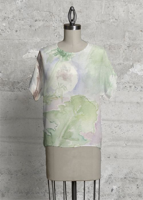 Floral Modern Tee #spring #collection #trendy #tee #fashion #woman #top #trend