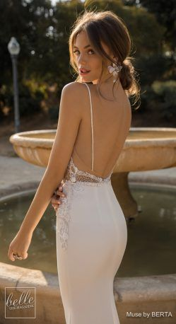 MUSE by Berta Wedding Dresses 2019 – Barcelona Bridal Collection – 0O7A6515