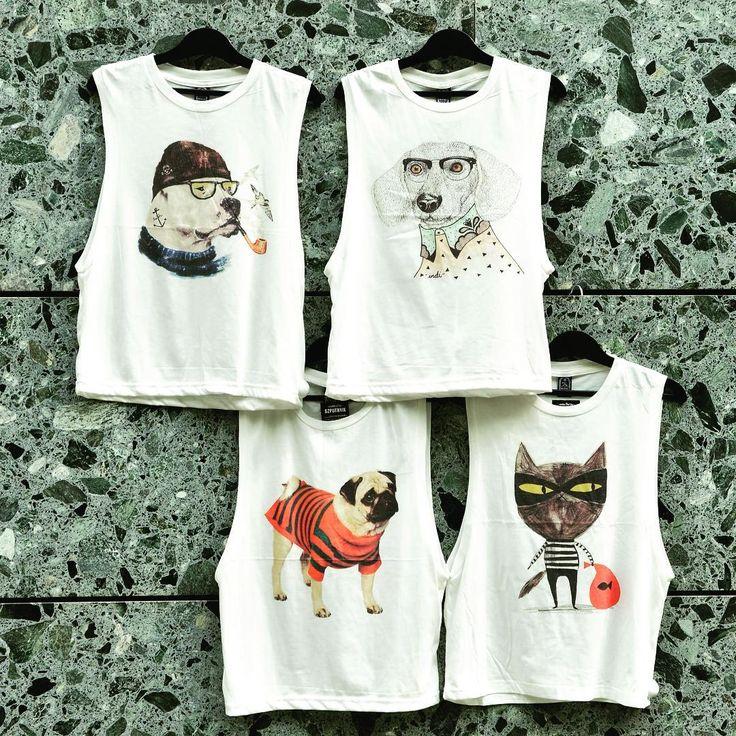 Na ki a kakukktojás? #szputnyikshop #szputnyik #budapest #newcollection #ss16 #tanktop #doggy #kitty #unique #print #dog #cat #ladiesfashion #dogsofinstagram #catsofinstagram #streetstyle #summertime #animallovers #musthave