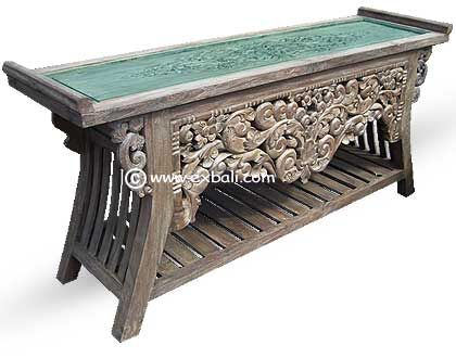 Attractive ANTIQUE TEAK   Coffee Tables   [ EXPORT BALI ]