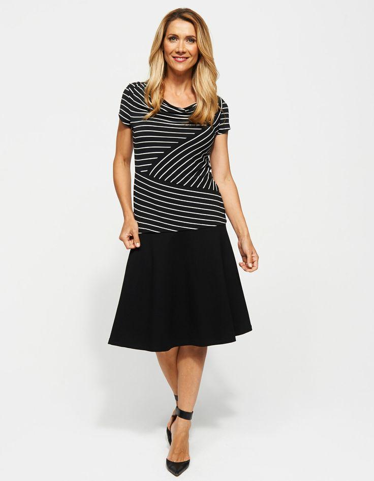Hayden Flare Ponti Skirt | JacquiE