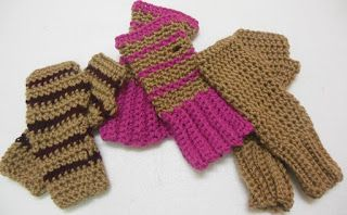 Sweet Nothings Crochet: GLOVES FOR YOUNG BOYS