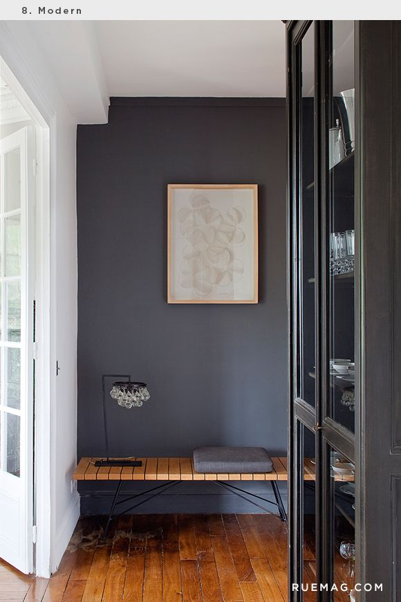 Can Anyone Identify This Beautiful Dark Gray Paint Color