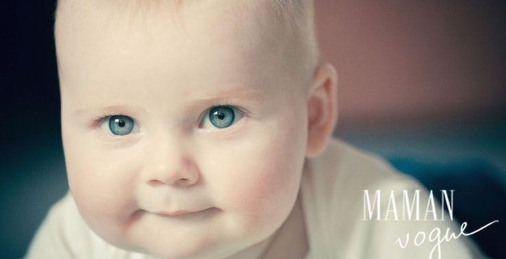 Magnifique bébé né par césarienne