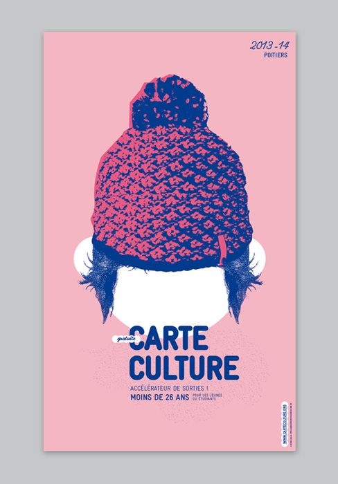 le jardin graphique, visuel Carte culture - Poitiers