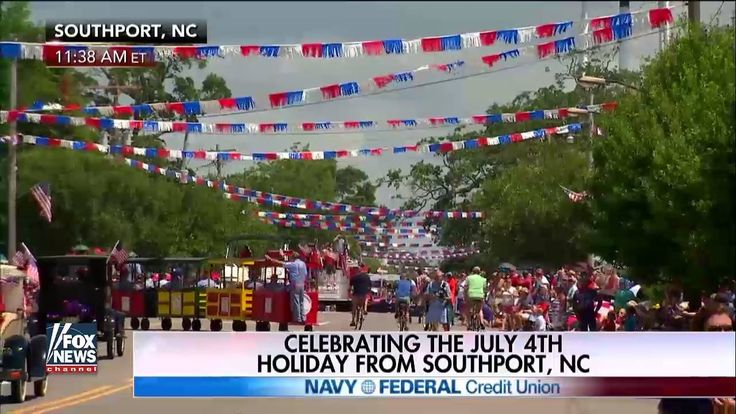 WATCH: Anna Kooiman is with Fox News Channel at the North Carolina Fourth of July Festival in Southport, North Carolina. #ProudAmerican