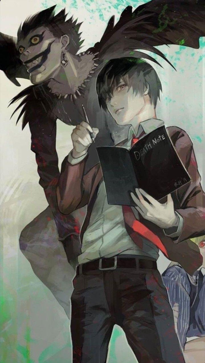 Deathnote Yagami Kira Ryuk Wallpaper Death Note Cosplay Death Note Light Death Note Fanart