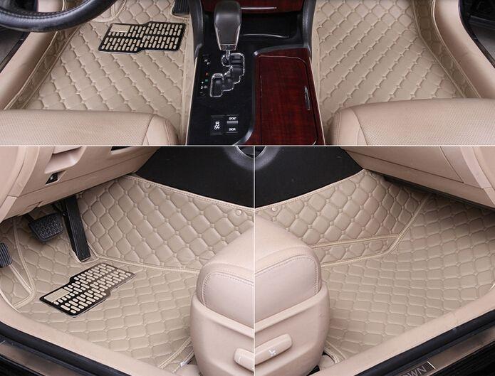 Хорошо + бесплатная доставка! автомобильные коврики для BMW 7 серии 2014-2008 прочный водонепроницаемый кожа тахты для 7 серии 2015