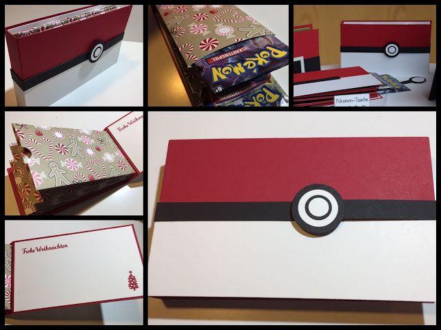 Herzlich Willkommen beim Papierfräulein: Pokemon-Tasche, Pokemon Karten, Geschenk, Stampin Up
