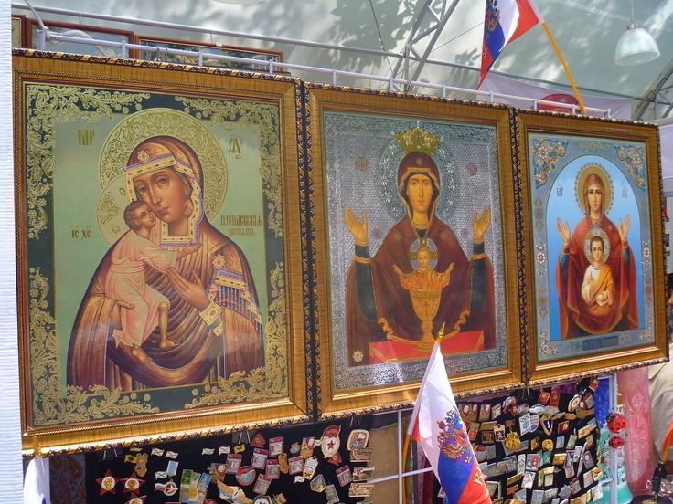 Iconos rusos.