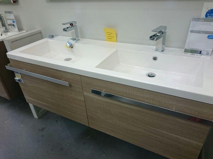 52 best DECO    salle de bain images on Pinterest Bathroom - meuble salle de bain fer forge