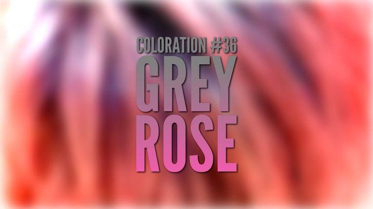 Coloration #36 Grey Rose