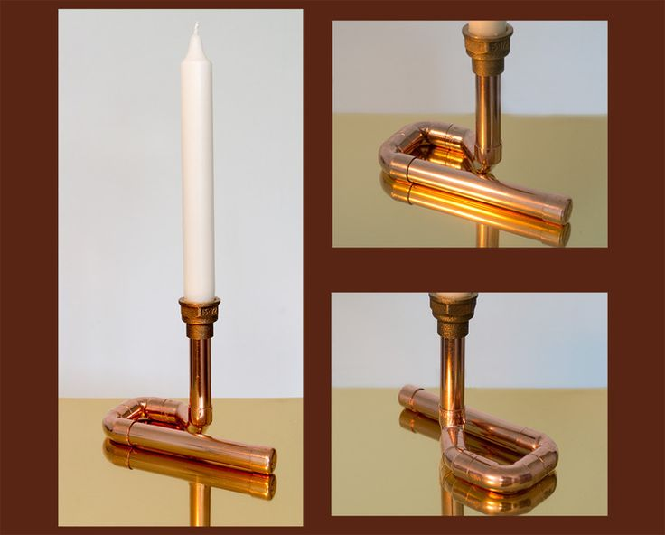 Kerzenständer Kupfer Candle Copper Candle holder