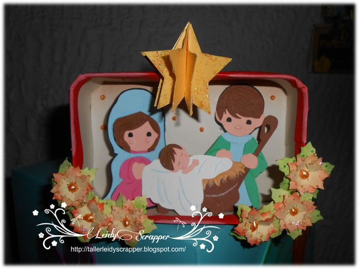 Shadow box tema Pesebre