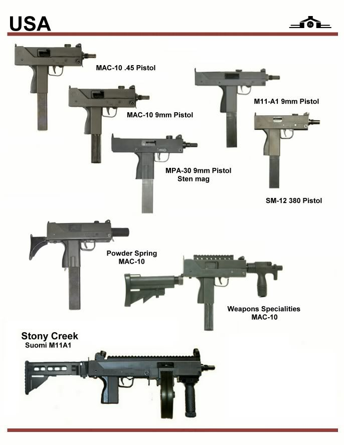USA MAC-10 and MAC-11 Series