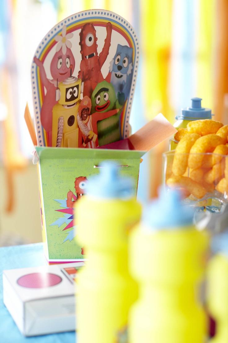 Great Yo Gabba Gabba Party Kits #Party #Kids #BirthdayExpress