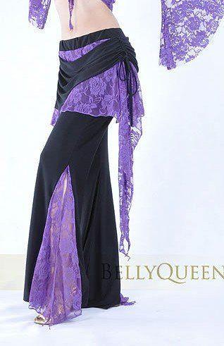 38873aa79 danza del vientre tribal dancewear traje de baile de encaje falda ...