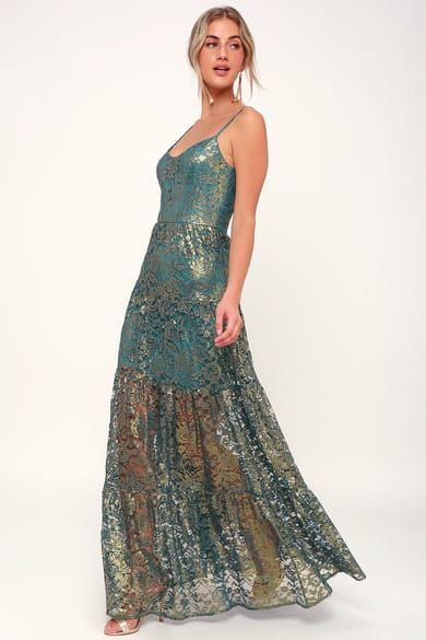1f9def378ee Pretty Maxi Dress - Convertible Dress - Emerald Green Dress