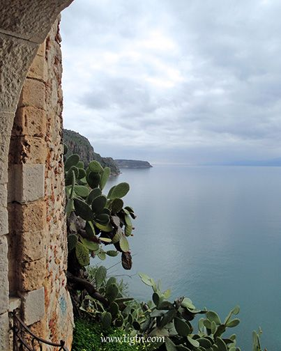 Looking down to the #Argolic Gulf from #Akronafplia Caslte in #Nafplio - #Greece