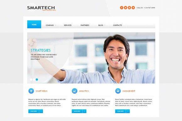 SmarTech - Business Joomla Theme. Joomla Themes. $35.00