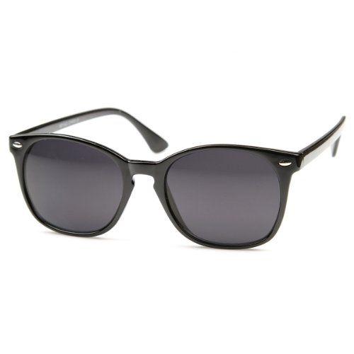 zeroUV - Vintage Inspired Round Horn Rimmed Key Hole Bridge Horn Rimmed Sunglasses (Black) ZeroUV http://www.amazon.co.uk/dp/B00877BFY8/ref=cm_sw_r_pi_dp_if40wb03D281G