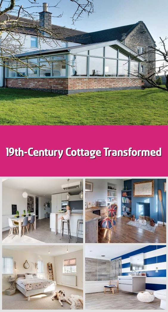 "19th-Century Cottage Transformed - It's remarkable that Lisa and Ryan Tucker succeeded in buying their cottage at all, given the many twists and turns of fate. ""We first saw it in 2014 after we had been looking for a long time,"" begins Lisa. ""It wasn't beautiful and we didn't exactly fall in love with it because it was damp, very cold and had been empty for some time. But we could see the potential.""The 1820s cottage was originally a 'two up, two down', but had been extended in the 1970s; the..."