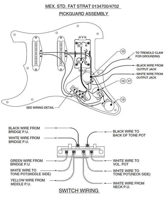 Wiring Diagrams Guitar Hss - http://www.automanualparts.com/wiring-diagrams-guitar-hss/: