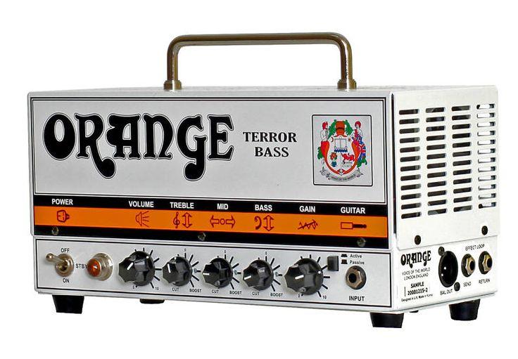 Orange Bass Terror 500 Watt Compact Bass Amp Head
