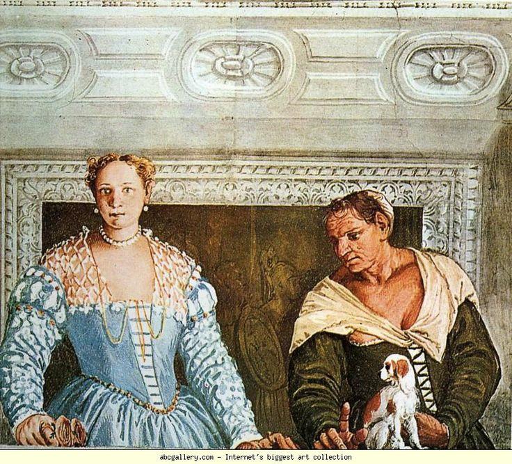 Paolo Veronese. Giustiniana Giustiniani with Her Nurse.