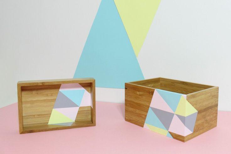Idées pour ma (future) commode à tiroirs Ikea à peindre !  (penser à mettre une couche de vernis...)
