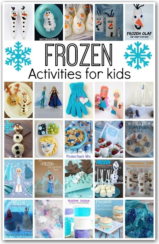 WOW! This collection of Disney Frozen ideas is awesome. Everything you will ever need for your Frozen fan: crafts, recipes, party ideas, pla...