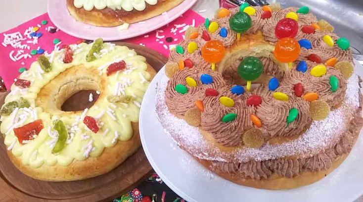 Rosca de Reyes para grandes y chicos